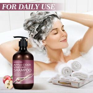 LAGUNAMOON Reduce Dandruff Clean Scalp Apple Cider Vinegar Hair Shampoos 500ml