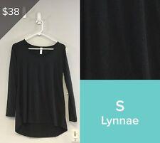 LULAROE NOIR LYNNAE, NWT, SIZE S BLACK 3586