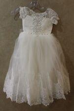 Flower Girl Princess Wedding Bridesmaid Party Formal Ball Gown Dress _--___ HANG