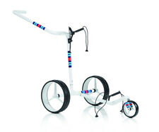 JuCad Trolley Carbon 3-Rad Racing White -Sonderedition-