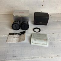Sigma Tele Converter X1.4 And Sigma Wide Converter X0.7 Lightweight For Af Video