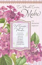 AG Spanish Mother's Day Card: You've Always Been So Special & Loved--w/ Keepsake