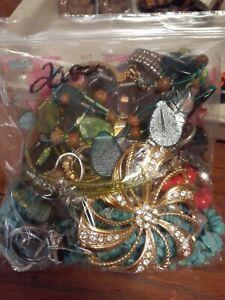 Vintage jewelry grab bags