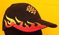 Casquette flammes avec croix occitane la casquette qui pète le feu !