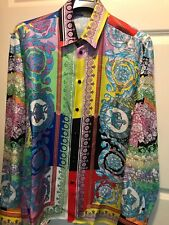 5900708341 Versace Floral Casual Shirts & Tops for Men for sale   eBay
