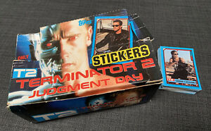 Terminator 2 - Topps shop display box and 57 cards