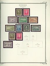 HONDURAS Scott Specialty Album Page Lot #13 - SEE SCAN - $$$