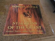 First E Stallions of the Quest Robert Vavra Hard Back with Dust Cover