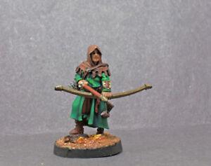 Painted Archer miniature (resin) D & D RPG
