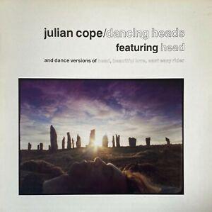 "Julian Cope - Dancing Heads EP (12"") (VG-EX/VG-)"