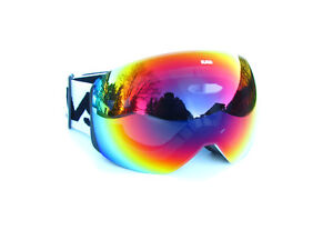 Ravs Ski Goggles For Spectacle Wearers Snowboard Snow Fully Mirrored