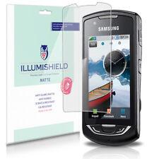 iLLumiShield Matte Screen Protector w Anti-Glare/Print 3x for Samsung Monte