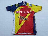 Womens Champ Sys Purina Velo Force Bike Cycling Jersey Sz S Small Shirt MTB Race