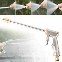 US High Pressure Power Gun Water Spray Garden Hose Nozzle Car Clean Washer Tool