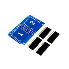 Wemos Shield Dual Base per Wemos D1 Mini e Wemos d1 Mini Pro