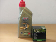 Castrol Power 1 Racing 4T 10W-40 / Ölfilter Honda CRF450 L-K Bj 19