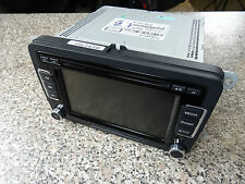 Org. VW Golf CD Radio Navigation Touchscreen Multimedia RCD 510 1K0035180AF