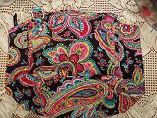 Vera Bradley NWT Glenna Shoulder Bag in Parisian Paisley  14540-340
