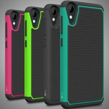 For HTC Desire 825 Case Tough Protective Hard Hybrid Dual Layer Phone Cover