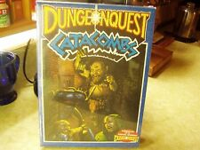 DUNGEONQUEST CATACOMBS EXPANSION 1988/ORIGINAL SEALED SW/MINT/NO FLAWS/PERFECT!!