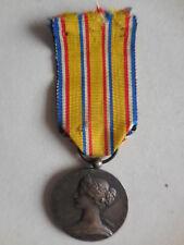 Francia medaglia al merito dei Pompieri Vigili del Fuoco 1900 argento