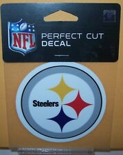 PITTSBURGH STEELERS COLOR LOGO WINCRAFT 4X4 DECAL STICKER FREE SHIPPING