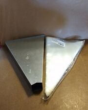 """Stainless Steel Wall Mount Pastry Bag Dispenser + 18"""" -Pastry Bags Maybe 50"""