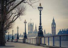 Fototapete-LONDON BIG BEN (61P)-350x260cm-Digitaldruck 7 Bahnen mit Kleister