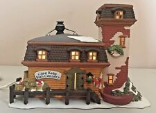 Dept 56 New England Village Series Cape Keag Fish Cannery lighted House
