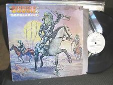 Budgie Bandolier 1975 A&M White Label PROMO LP rare oop original w/inner ad slv!