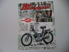 advertising Pubblicità 1975 MALAGUTI FIFTY SPECIAL 50 RADIALE