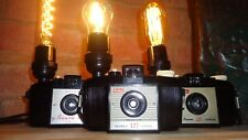 Vintage Light Lamp Retro Camera Steampunk Goth Upcycled Repurposed gift