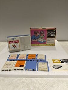 Playtape Junior Model 1110 Automatic Tape Player With Box Manual And 8 Tapes