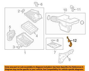 GM OEM Air Cleaner Intake-Lower Bracket 23462365