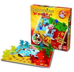LOT 33153   Goliath 70258 Schweine Schwarte - Das Rennen - Brettspiel ab 4+ NEU