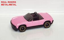 Hot Wheels PORSCHE 914-6 Custom Paint REAL RIDERS METAL/METAL Loose