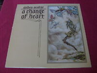 Golden Avatar:   A Change Of Heart  UK 1976 LP  EX+