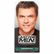 Just for Men Mens Shampoo In Permanent Colour Hair Dye H45 Dark Brown Black