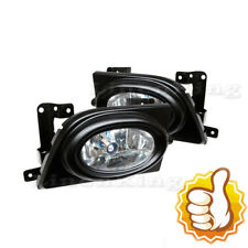 Fog Lights Bumper Lamps Light Clear W/ Swtich For 06 07 08 Honda Civic 4DR