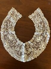 Antique Brussels Lace Ladies Collar