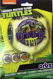 "Disney & Nickelodeon Cartoon Characters Birthday Party Supply 15"" Orbz Balloon"