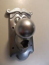 ALICE IN WONDERLAND USED FIXING DOOR KNOB CHARACTER  METALLIC SILVER