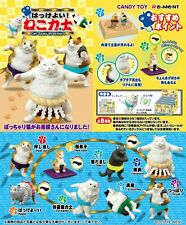 Re-Ment Miniature Cat Sumo Wrestlers Toy Figure Full set of 8 pcs
