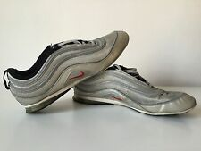 Nike Air Max 97 Silver AIR PLATA bianche baffo rosso n° EU 40,5 US 7,5 usate