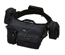 EVERGREEN hip & shoulder bag HD2 Black Japan Import With Tracking With Tracking
