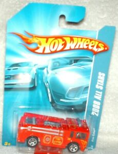 Hot Wheels 2008 All Stars Fire-Eater red,excellent card