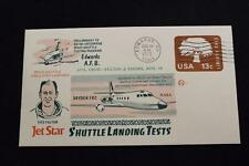 SPACE COVER 1976 MACHINE CANCEL JET STAR SPACE SHUTTLE LANDING TEST #376 (3000)