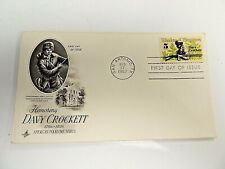 """August 17th, 1967 """"Davy Crockett"""" First Day Cover"""