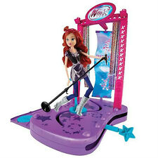 NEW Winx Club Rock Concert Stage&Barbie Doll-Jakks Pacific Gift Party23pic 41661