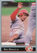 231   BILL DORAN    CINCINNATI REDS  BASEBALL CARD LEAF 1992